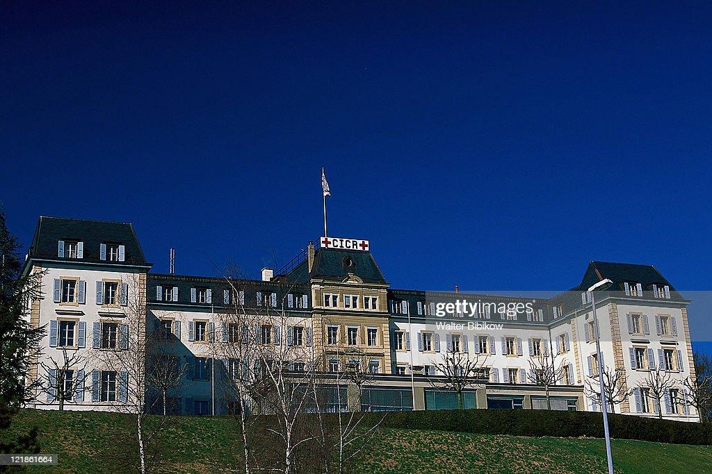 Red Cross Building, Geneva, Switzerland : Bildbanksbilder