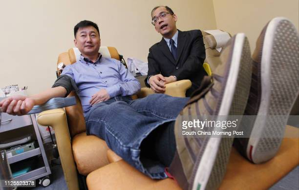 Red Cross' doctor Lee Cheukkwong alerted blood donor Mr Chiu on risk on having intestinal cancer after detecting a rare virus in his blood that links...