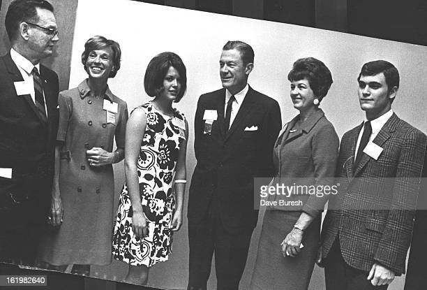 MAY 7 1968 MAY 8 1968 Red Cross Plays Host to Youth at Breakfast in Albany Hotel During Current National Convention Guests from left were John M...