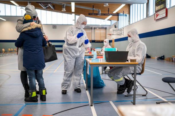 DEU: Mass Corona Tests Begin In Hard-Hit Hildburghausen