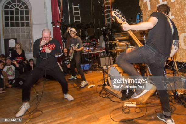 Red Death performs at the Damaged City 2018 preshow at All Souls Church