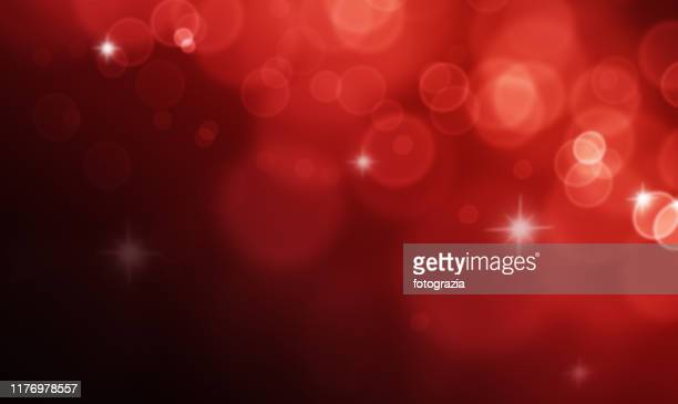 red defocused lights and sparkles - shiny stock pictures, royalty-free photos & images