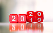 Red Dices Changing From 2019 To 2020