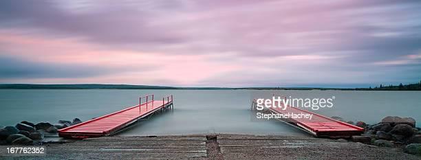 Red Docks Panoramic