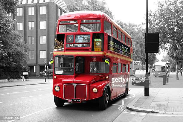 Red Double-Decker Bus - London