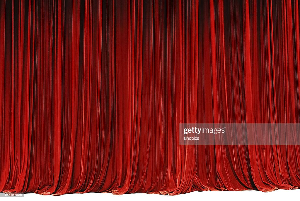 red drape : Stock Photo