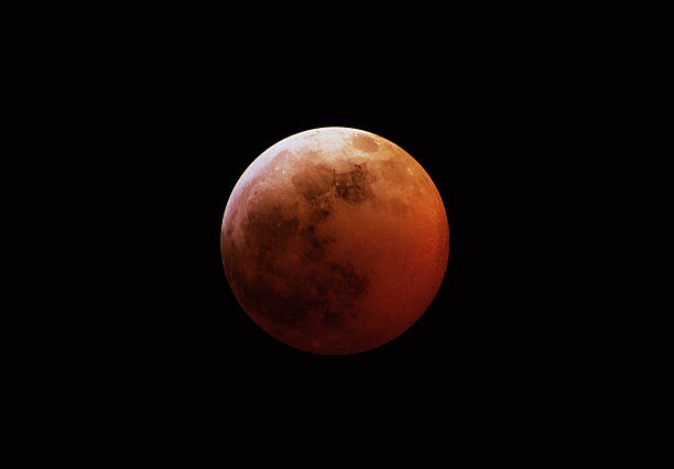 Red Eclipsed moon