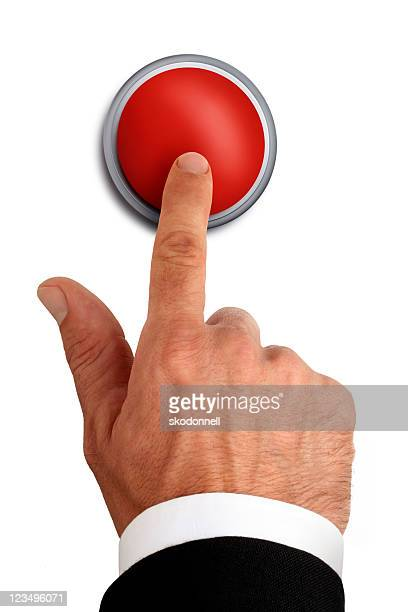 red emergency button - push button stock pictures, royalty-free photos & images