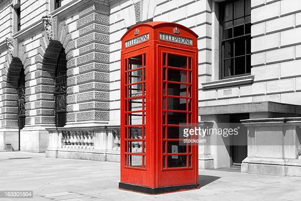 Red English telephone Box London