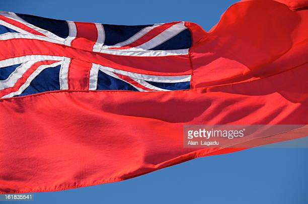 red ensign,jersey. - coat of arms stock pictures, royalty-free photos & images