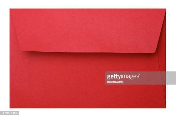 Enveloppe rouge chinoise Tracé de détourage