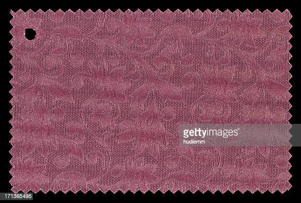 Red Fabric Swatch textured background