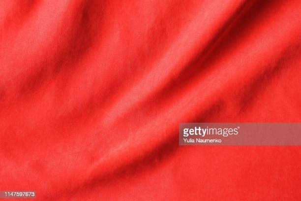 red fabric texture background - ベルベット ストックフォトと画像