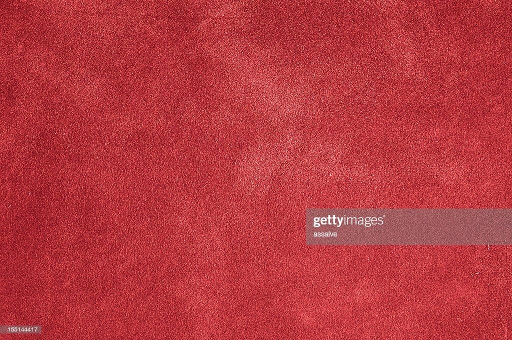 red felt, plush, carpet or velvet background : Stock Photo