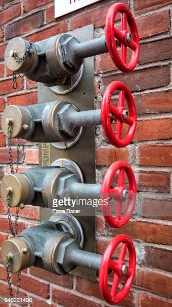 Red Fire Pump Valves