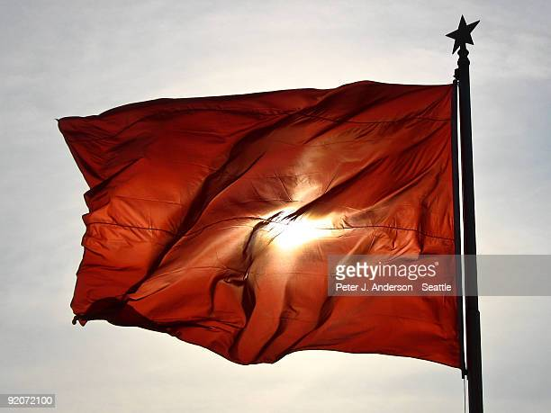 A Red Flag over Tienanmen Square