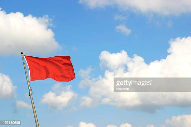 red flag - flag stock pictures, royalty-free photos & images