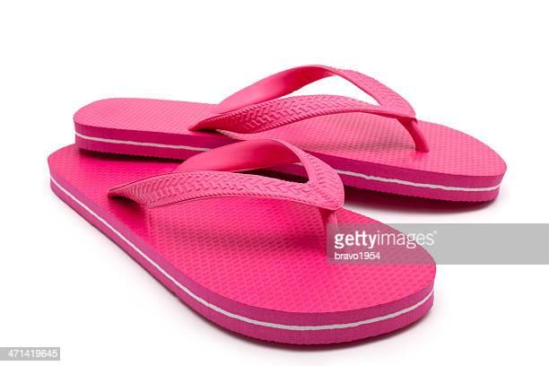 red flip-flop - open toe stock pictures, royalty-free photos & images