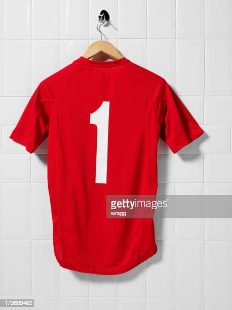 Red Football Shirt