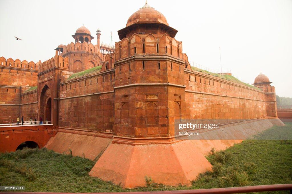 Red fort Delhi : Foto stock