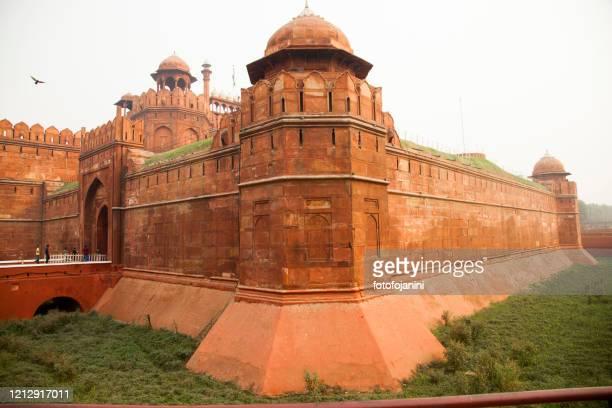 red fort delhi - fotofojanini foto e immagini stock