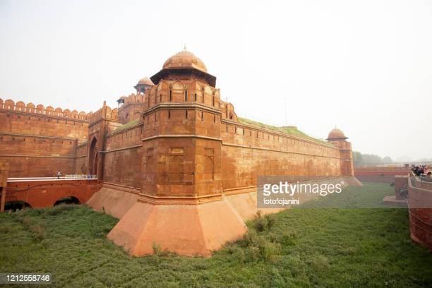 red fort new delhi - fotofojanini foto e immagini stock
