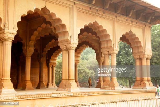 red fort  palace new delhi - fotofojanini foto e immagini stock