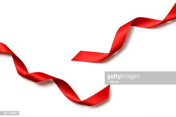 red gift bow - ribbon stock pictures, royalty-free photos & images