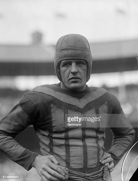Red Grange of the Chicago Bears during a game against the Giants at the Polo Grounds in New York City.