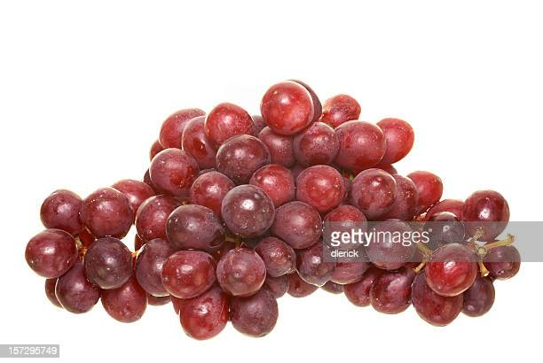 red grapes, pile