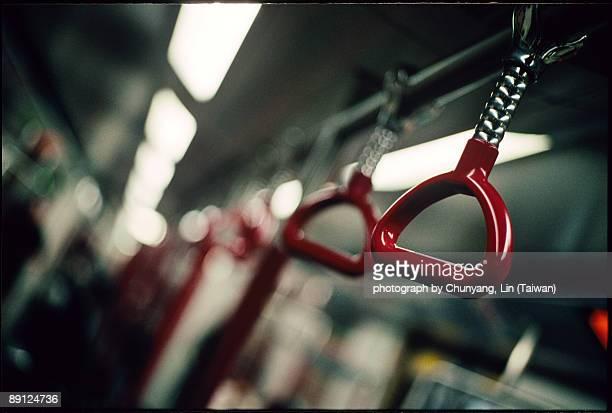 Red grip in HK subway