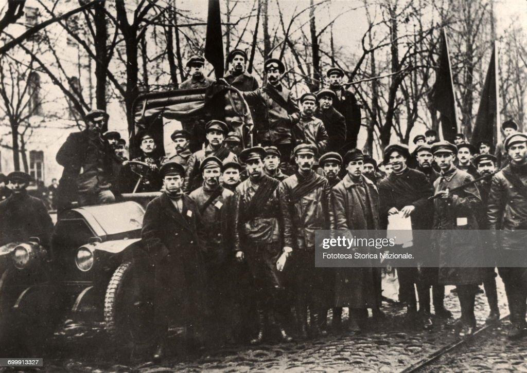 THE RUSSIAN REVOLUTION : News Photo