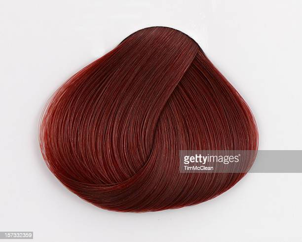 Rotes Haar swatch
