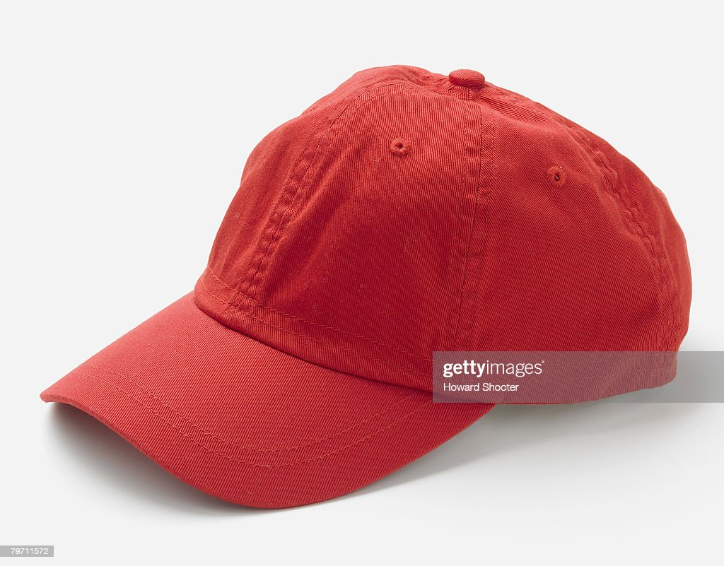 Red hat, side view : Stock Photo