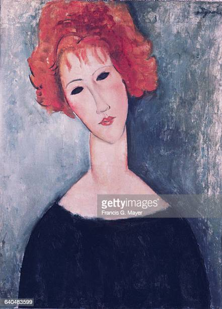 Red Head by Amedeo Modigliani