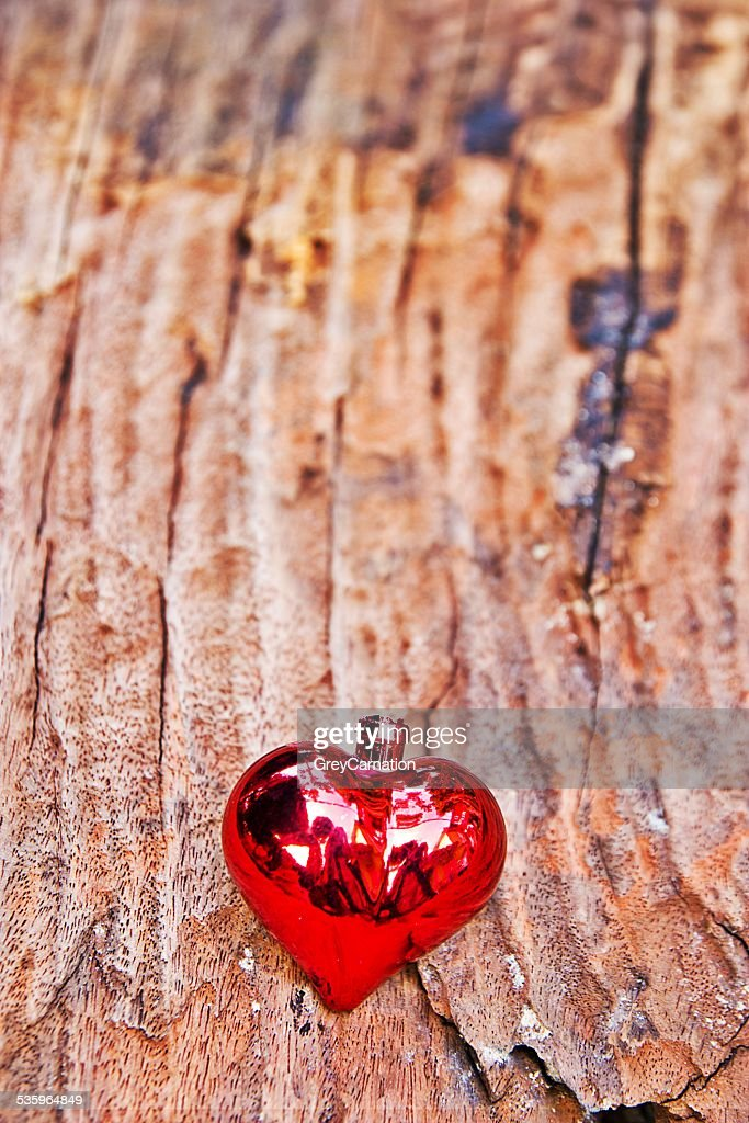 red heart. : Stock Photo