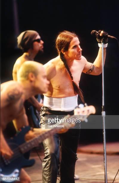 Red Hot Chili Peppers Anthony Kiedis Flea Dave Navarro TorhoutWerchter Festival Werchter Belgium