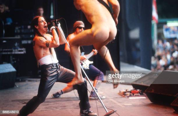Red Hot Chili Peppers Anthony Kiedis Flea Dave Navarro TorhoutWerchter Festival Werchter Belgium