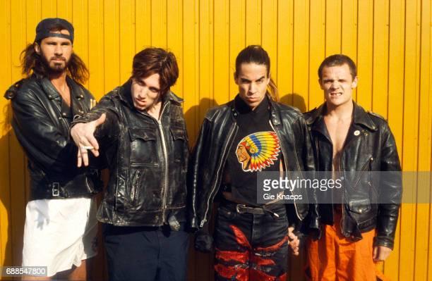 Red Hot Chili Peppers, Anthony Kiedis, Flea, John Frusciante, Chad Smith, Pinkpop Festival, Landgraaf, Holland, .
