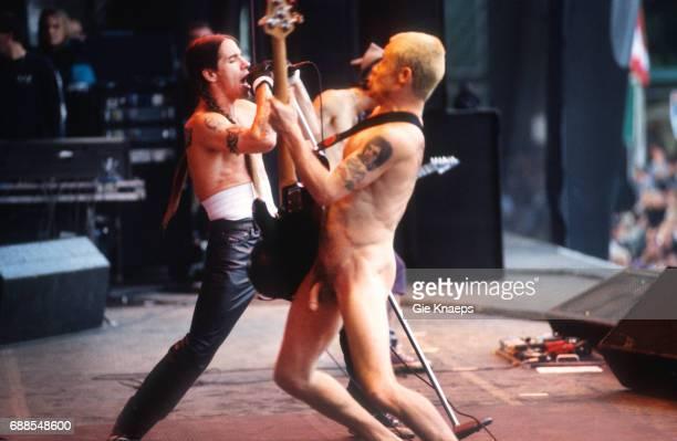 Red Hot Chili Peppers Anthony Kiedis Flea TorhoutWerchter Festival Werchter Belgium