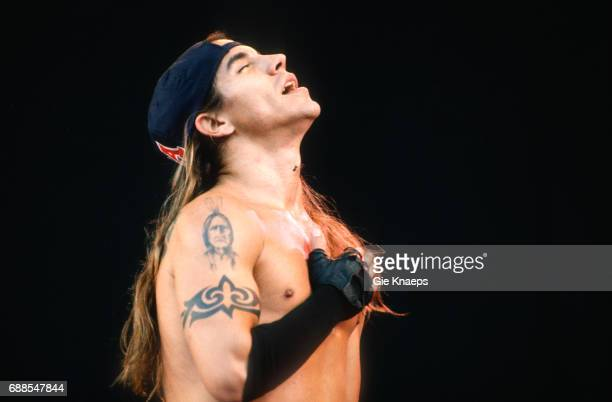 Red Hot Chili Peppers Anthony Kiedis Pinkpop Festival Landgraaf Holland