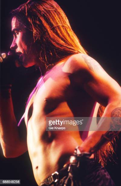 Red Hot Chili Peppers Anthony Kiedis Pukkelpop Festival Hasselt Belgium
