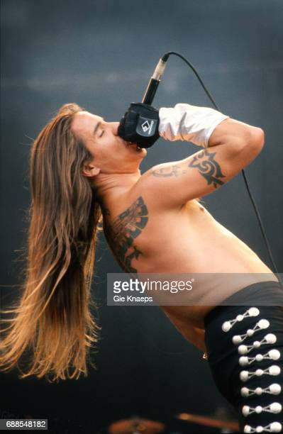 Red Hot Chili Peppers Anthony Kiedis TorhoutWerchter Festival Torhout Belgium