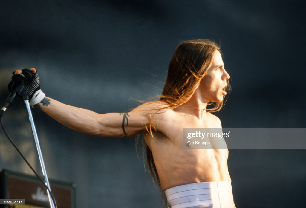 Red Hot Chili Peppers : News Photo