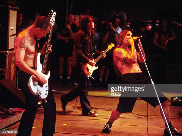 Red Hot Chili Peppers at the Robert F Kennedy Stadium in Washington Uruguay