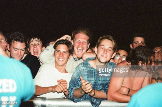 Red Hot Chili Peppers headline Reading Festival, 29th August 1994.