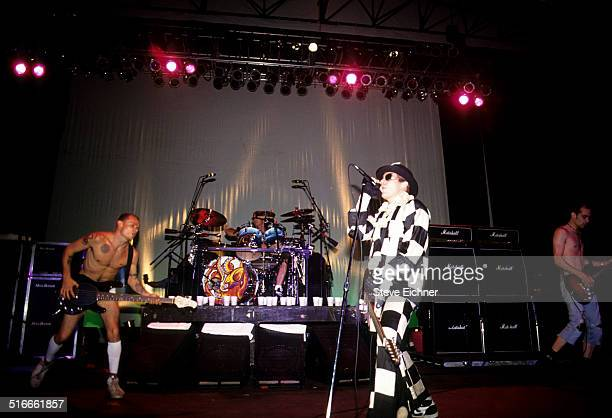Red Hot Chili Peppers perform at Lollapalooza Waterloo New Jersey August 1 1991