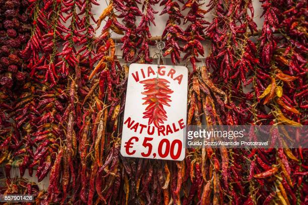 red hot peppers for sale - viagra fotografías e imágenes de stock