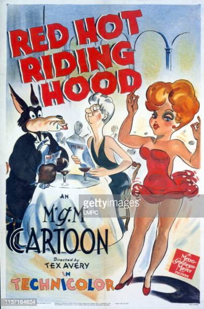 Red Hot Riding Hood poster Tex Avery cartoon 1943