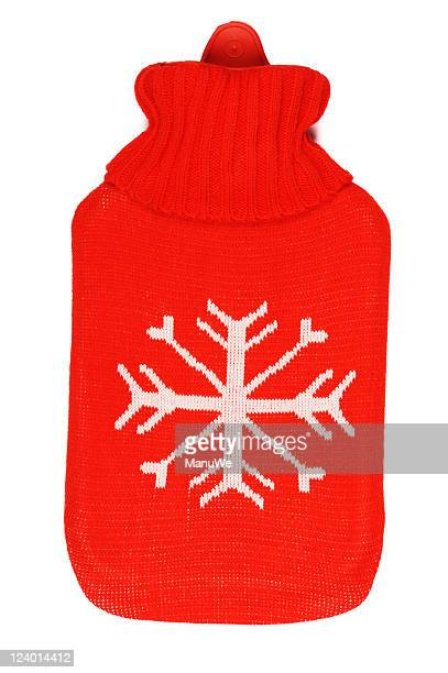 Red Hot-water bag Topview